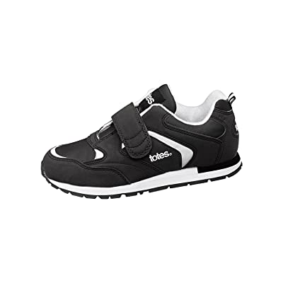 Totes Women's Walking Shoes, Black, Size 7-1/2 (Wide)