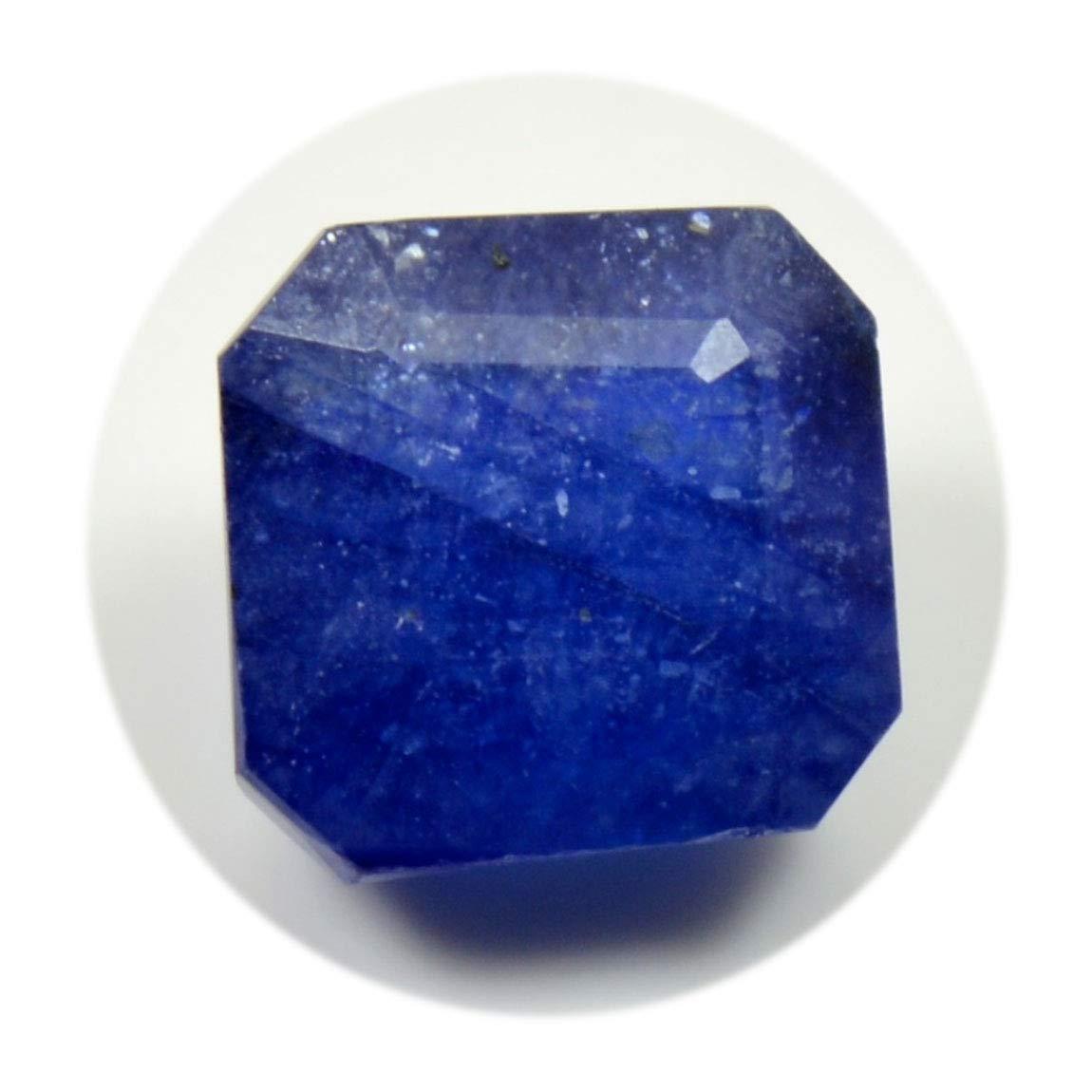 Natural Blue Sapphire Gemstone 8 Carat Asscher Shape September Birthstone at Wholesale Rate Loose Stone Gemsyogi 55LOOGEMBSA20