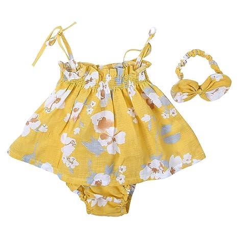 Vestido Princesa Falda Floral Bebé Mameluco Mono Mono Verano ...
