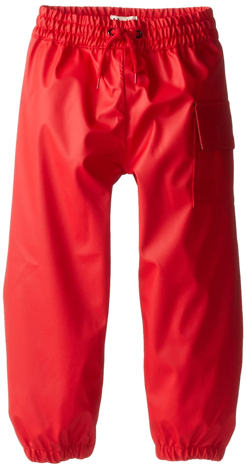 Hatley Boy's Splash Pants Rain Trousers Red (Monochrome) 7 Years RCPCGRD001-600