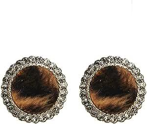 Pendientes Pendientes de otoño e invierno exquisita moda popular clásico feminidad moda simple personalidad pendientes de felpa exq