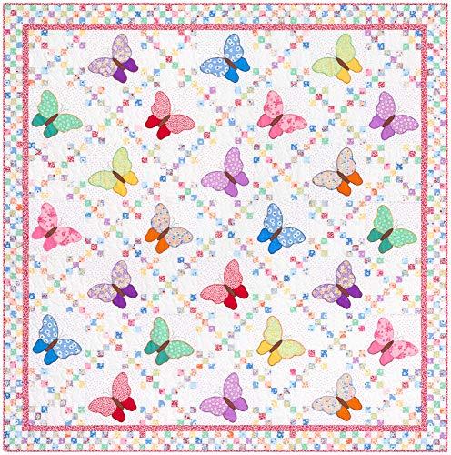 Darlene Zimmerman Aunt Ella's Butterflies Quilt Kit Robert Kaufman Fabrics KITP-1901-22