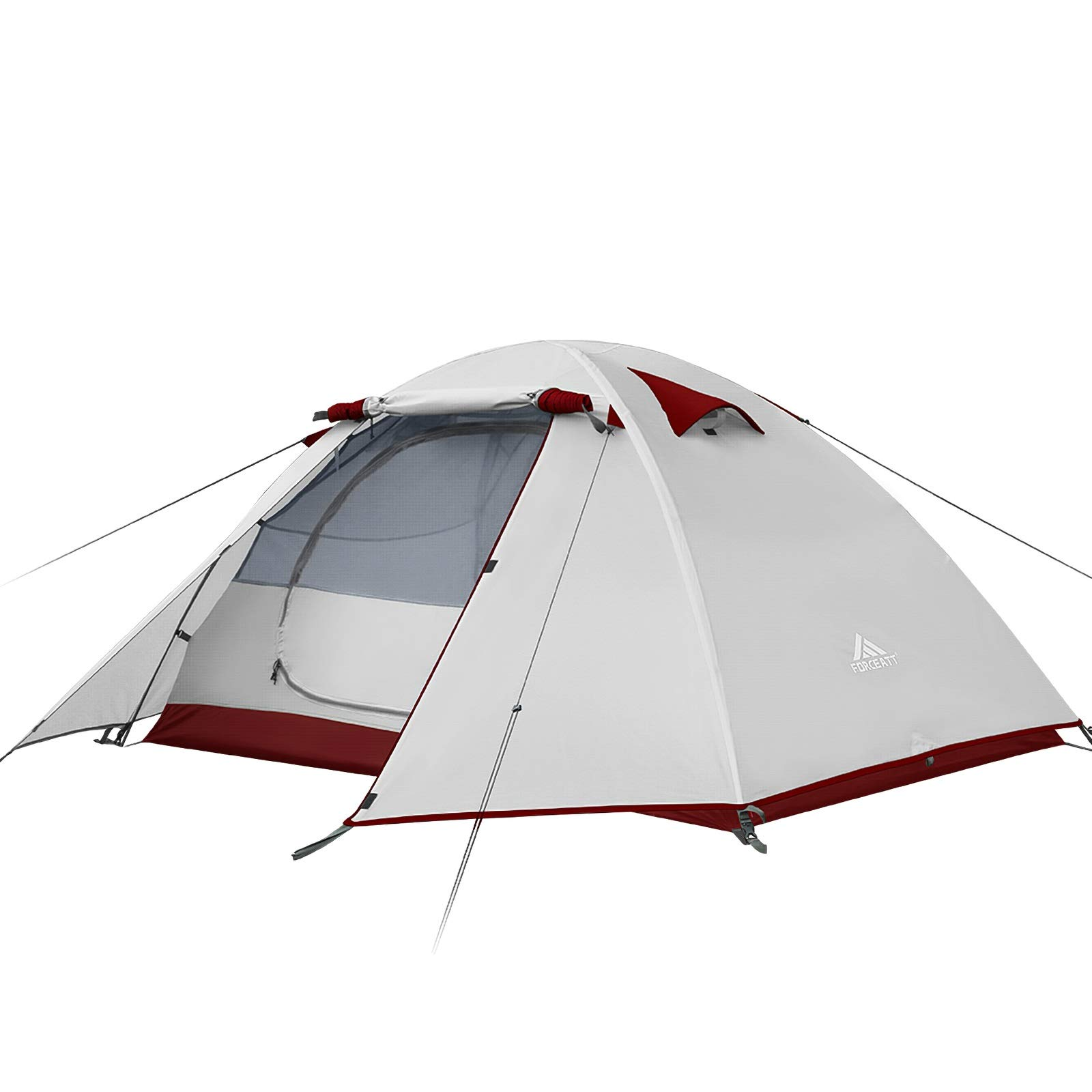Forceatt Camping Tent 2 and 4 Person Tent, Waterproof & Windproof. Lightweight Backpacking Tent, Easy Setup, Suitable for Outdoor and Hiking Traveling
