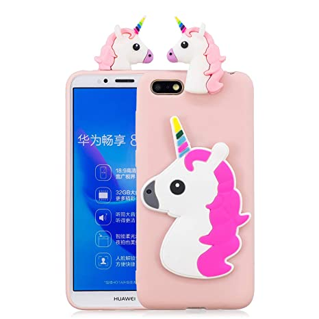 nuovo concetto a0acc 156ad Compatible Huawei Y5 2018 Case, Ultra-Thin Anti-Drop Cover Premium Material  Full Protection Slim Women Cover, Specially Designed for Huawei Y5 2018 ...