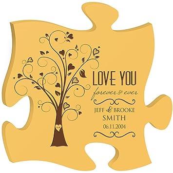 Personnalisé Cadeaux De Mariage Pour Mariée Et Marié Love