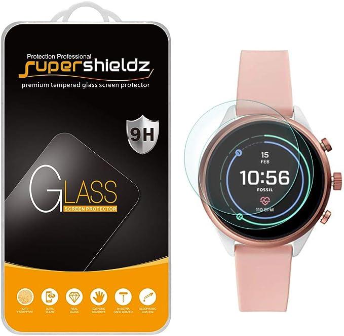 2 Unidades] Supershieldz para Fossil Sport Smartwatch 41 mm (Gen 4 ...