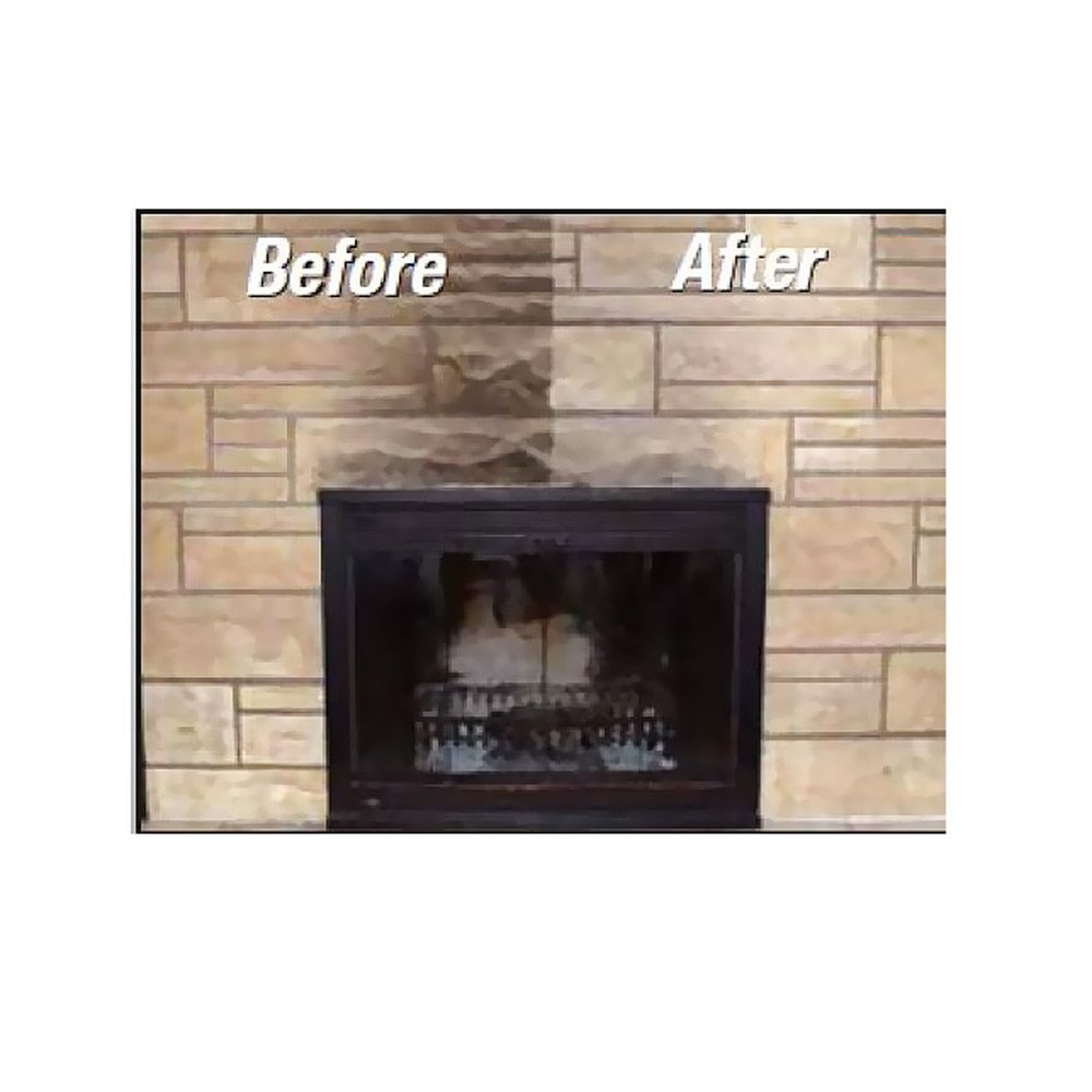 amazon com chimneyrx paint and peel fireplace cleaner 1 2
