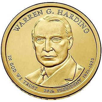 2014 S Warren G Harding Presidential  *PROOF* Dollar Coin **FREE SHIPPING**