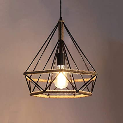 RBB Kit de iluminación Colgante Vintage; Retro Industrial ...