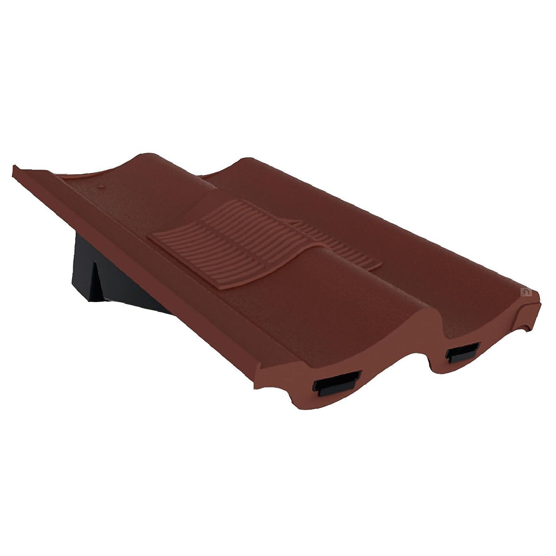 Marley Redland Sandtoft Antique Red Double Pantile Roof Tile Vent /& Adapter