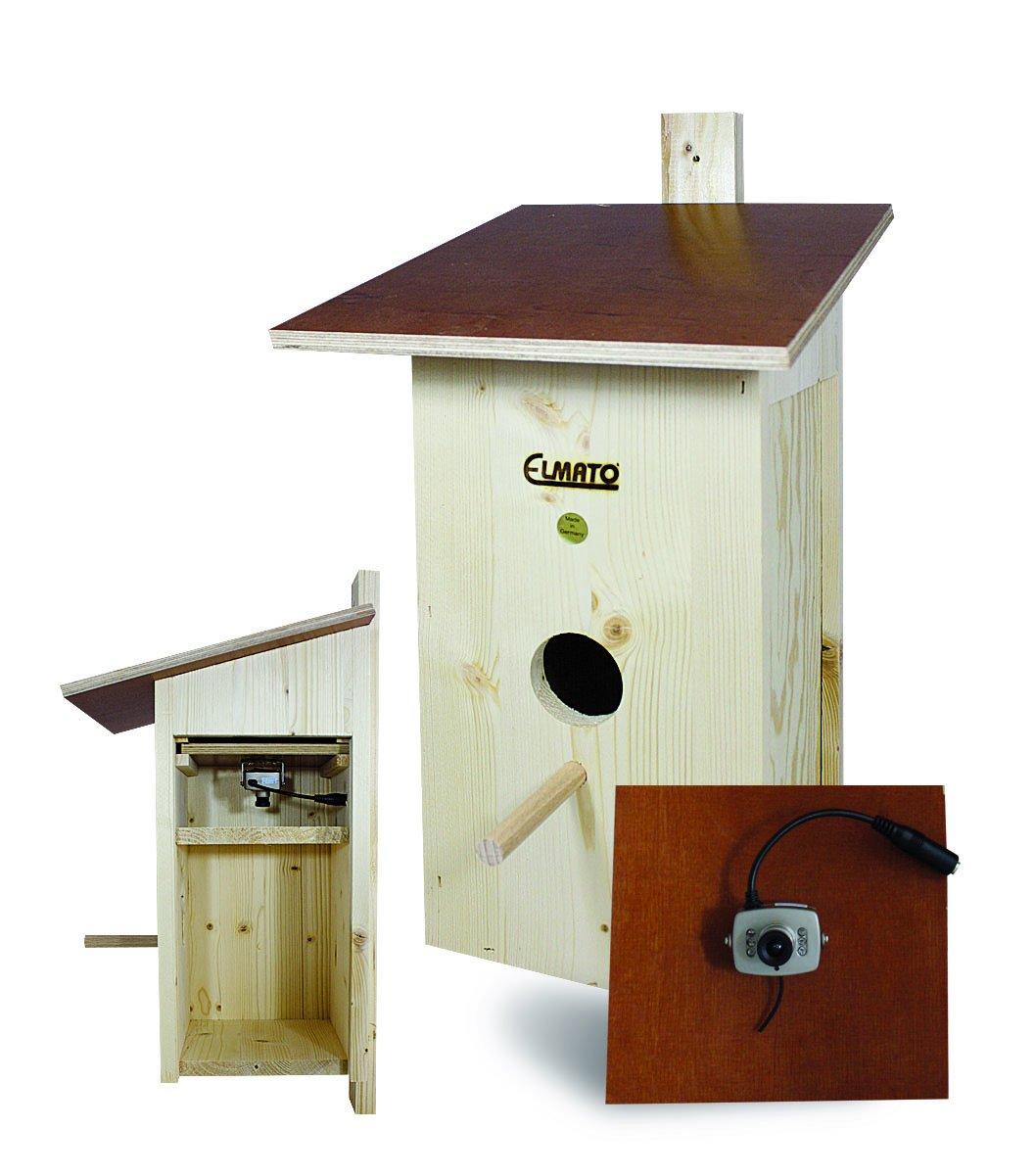 Elmato 10183 Vogelhaus mit Funk - Kamera