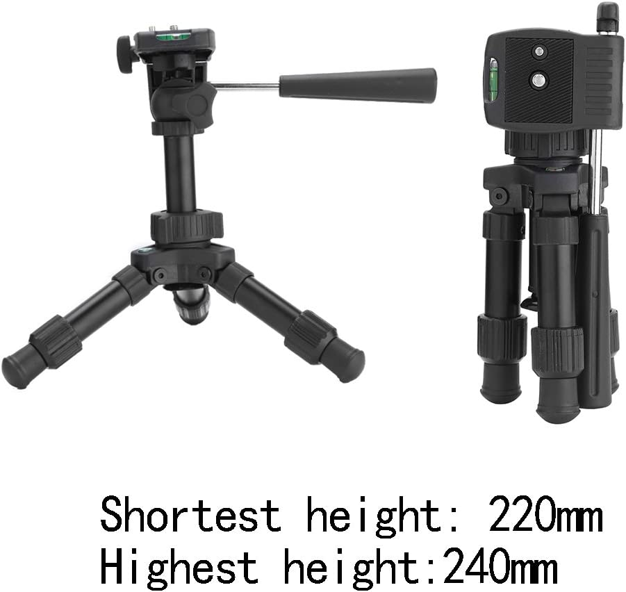 Approx 5 H Panasonic HDC-TM200 Camcorder Tripod Folding Table-Top Tripod for Compact Digital Cameras and Camcorders