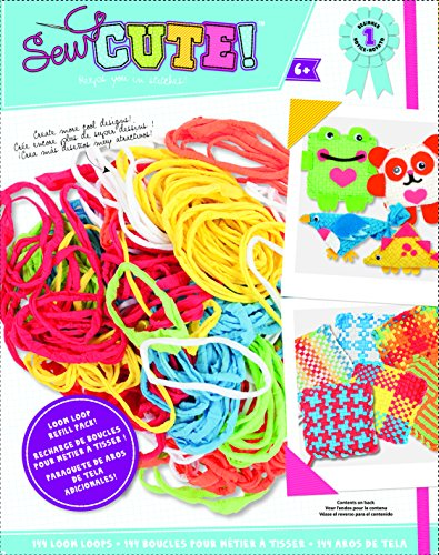 (Colorbok You Design It Loom Loop Refill - 144 pieces)