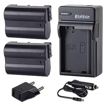 bitbiz 2000 mAh cargador de batería de repuesto para Nikon EN-EL15 ...