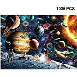 Alician 1000 Pieces Jigsaw Puzzles Educational Toys Scenery Space Stars Educational Puzzle Toy for Kids/Adults Christmas…