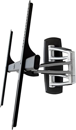 Atdec TH-3270-UFM Full Motion Articulated Wall Mount with Smooth Glide Technology for Displays up to 143-Pound, Silver