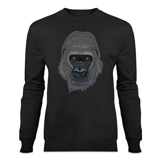 Sudadera cabeza del gorila by Shirtcity