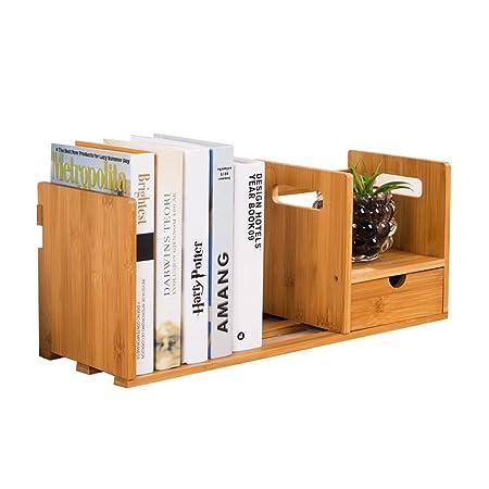 YMXLJF----- Ideas de Moda Estantería de Madera de bambú Simple ...