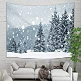 """Features:  Made polyester fiber, durable material, washable and reusableSmall size:150cm*100cm/60""""X40""""; Large size:200*150cm/80""""X60"""" Can be used as bed cover, table cloth, curtain or a tapestry Suitable for wall hanging decor,bedroom,living room,win..."""