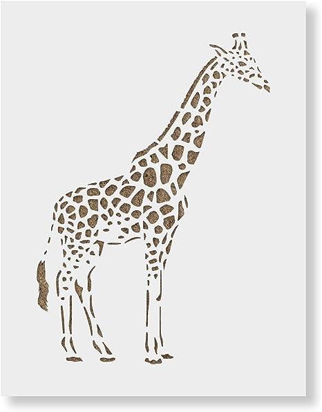 Sonomasurrealist Animal Stencil Sharpie Art Giraffe Art 12
