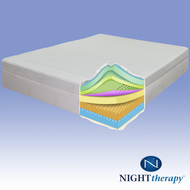 "Amazon Night Therapy 13"" Therapeutic Pillow Top Pressure"
