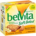 belVita Soft Baked Breakfast Biscuits, Banana Bread, 8.8 Ounce (Pack of 6) from Mondelez Global, LLC
