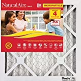 Flanders PrecisionAire 85756.012036 NaturalAire Micro Particle Red Pleat Air Filter (4 Pack), 20 x 36 x 1''