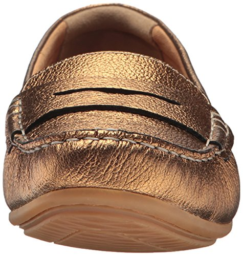 free shipping affordable Clarks Women's Doraville Nest Slip-On Loafer Gold/Metallic Leather sale low cost free shipping 2015 YCHTOBrI8L