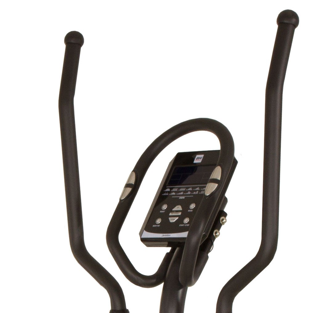 BH Fitness AMBITION 10001325 bicicleta eliptica - magnetica -sistema inercial de 12 Kg - zancada de 32 cm - Watt constantes: Amazon.es: Deportes y aire ...