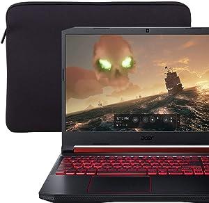 "2019 ACER Nitro 5 15.6"" FHD IPS Gaming Laptop | Intel Quad-Core i5-9300H Upto 4.1GHz | 8GB RAM | 256GB SSD | GTX 1050 3GB GDDR5 | Backlit Keyboard | Included: Sleeve | Windows 10"