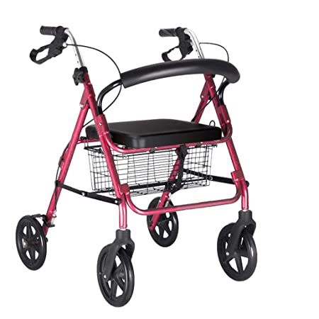 MyAou-Andadores Walker Elderly Trolleys Handicapped Walker ...