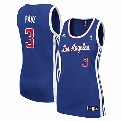 8c28ae63be60 Chris Paul Los Angeles Clippers NBA Adidas Women s Blue Replica Jersey ...