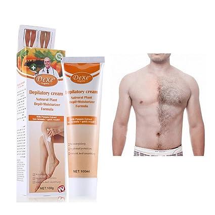 Yiitay - Gel de depilación de crema para eliminar el pelo de las mujeres y los