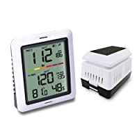 ECOWITT WH0290 Air Quality Monitor PM 2.5 Sensor Dust Detector Meter with Indoor Temperature and Humidity