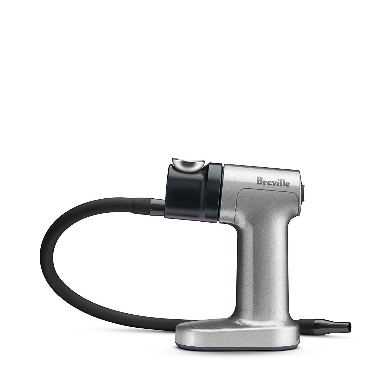 Breville BSM600SILUSC Smoking Gun Food Smoker, Silver/Black