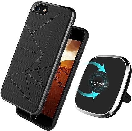 Amazon.com: Qi - Cargador inalámbrico para iPhone 8 Plus ...