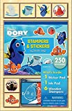 Bendon Finding Dory Small Wooden Stamp Set