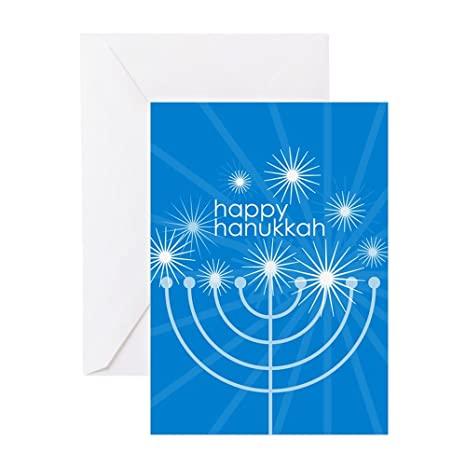 Amazon cafepress happy hanukkah greeting card 10 pack cafepress happy hanukkah greeting card 10 pack note card with m4hsunfo