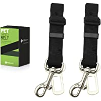 Etekcity 2-Pack Pet Dog Car Seat Belt