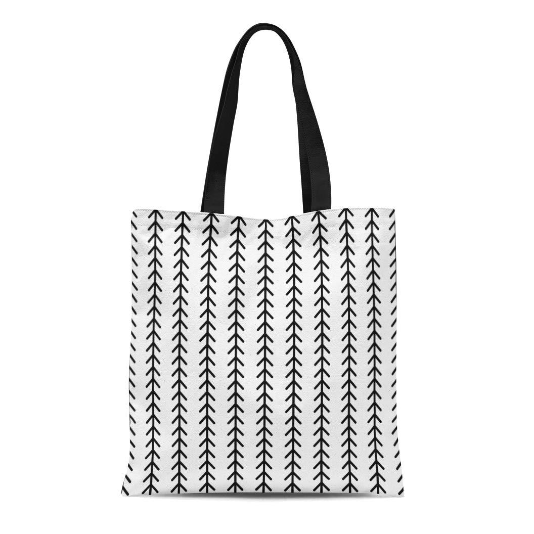 74d237425185 Amazon.com: Semtomn Cotton Canvas Tote Bag Abstract Geometric ...