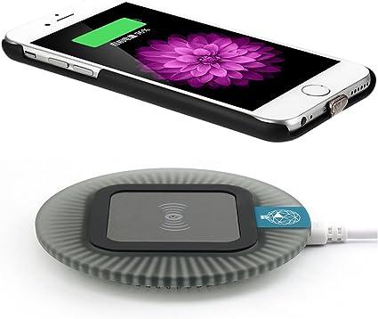 iPhone 6 Coque de chargement sans fil, antye Chargeur sans fil QI Coque récepteur pour iPhone 6 11,9 cm | compatible avec n'importe quel standard Qi ...