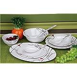 Melamine Ware Dinner Set - RF6718, 45 pieces