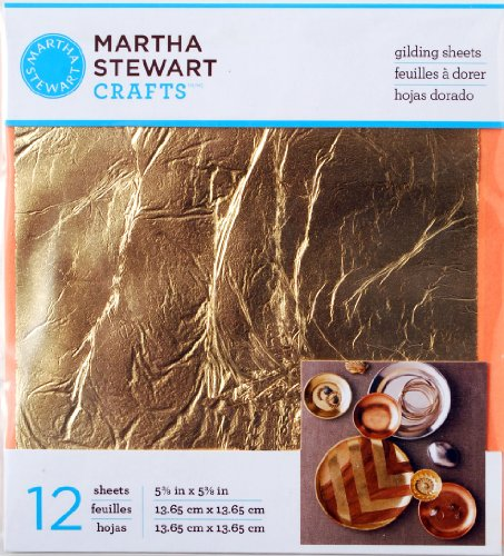 martha-stewart-crafts-decoupage-gilding-sheets-33317-gold