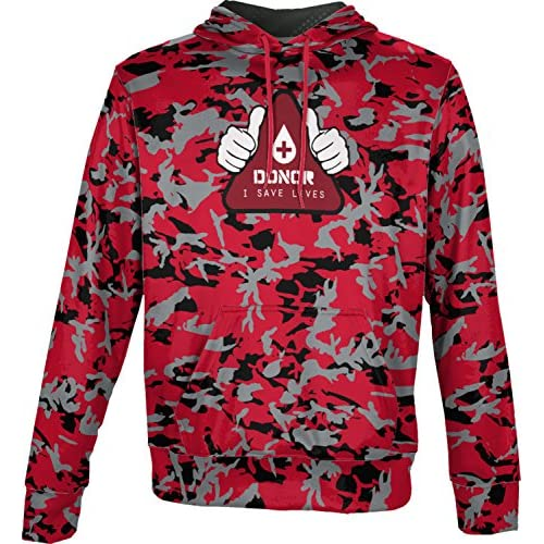 cheap ProSphere Boys' Donor Causes Camo Hoodie Sweatshirt (Apparel) supplies