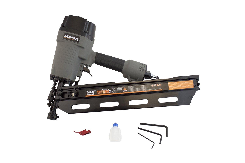 NuMax SFR2190 21 Degree Framing Nailer - Power Finish Nailers ...