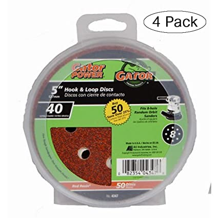 10-Piece Round Sanding Set with Padded and Drilled Adapter for Mixed Gravel T5D4