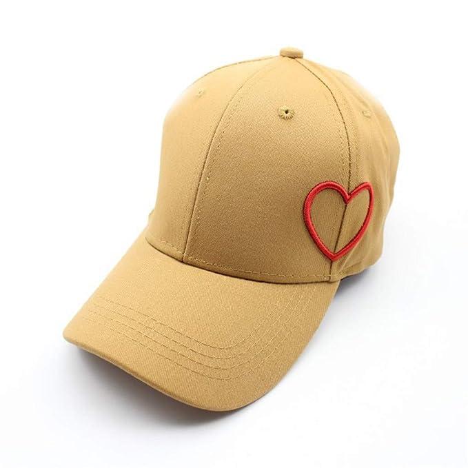 Dwevkeful Gorra de Béisbol Cap, Moda Casual Gorra de Verano Bordada Gorras Unicolor para Hombre Mujer Sombrero Anti Rayos UV Sombreros Hip Hop: Amazon.es: ...