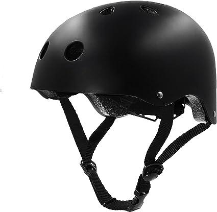 Skateboard Helmet for Kids Adjustable Multi-Sports Kids Youth Helmet Impact Resistance Ventilation Helmet for Scooter Rollerblading Kids Bike Helmet Toddler Helmet