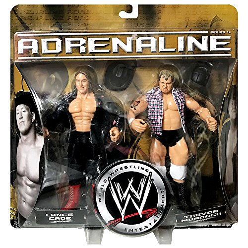 WWE Classic Superstars Adrenaline Series 18 Lance Cade and Trevor Murdoch 2-Pack Wrestling Tag Team Championship Action Figures (Wwe Action Figure Mr Mcmahon)