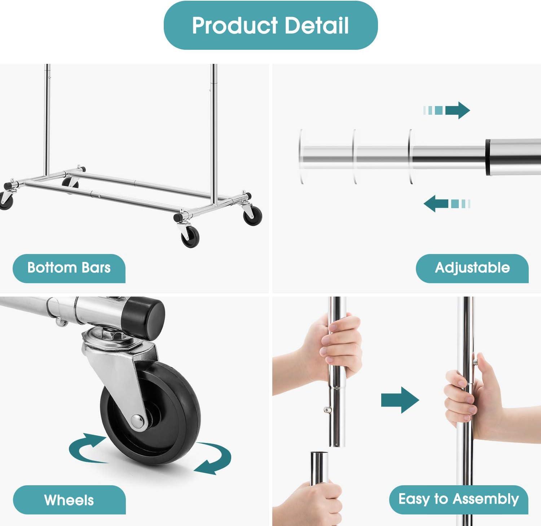 Amazon.com: Bextsware - Perchero multifunción para ropa ...